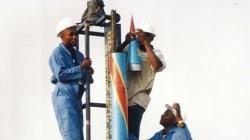 콩고 발명가가 생쥐 탑승 우주 로켓을
