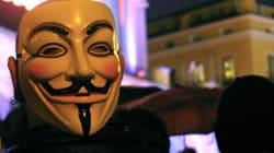 해커 집단 '어나니머스' KKK 신상정보