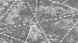 우주에서도 보이는 카자흐스탄의 고대