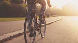 자전거 출근중 교통사고: 법원