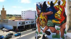Rabat: La fresque du street-artiste JAZ classée parmi les plus belles du