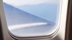 Επιβάτης αεροπλάνου πρόσεχει τη διαρροή καυσίμων από το παράθυρο και το αεροσκάφος κάνει αναγκαστική