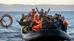 Plus de 800.000 migrants arrivés en Europe, Lesbos
