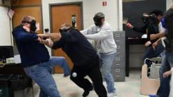 Etats-Unis: des enseignants s'entraînent contre les tueurs