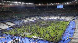 축구 중계 화면에 포착된 테러 폭발음