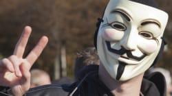 La déclaration de guerre d'Anonymous pourrait «gêner»