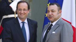 Le président français reçoit le roi du