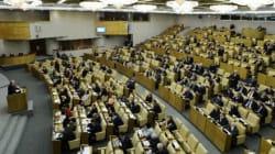 Le parlement russe appelle à renforcer la lutte contre le