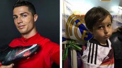Cristiano Ronaldo réalise le rêve d'un orphelin