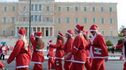Santa Run Athens: Οι Αϊ Βασίληδες έτρεξαν για τα