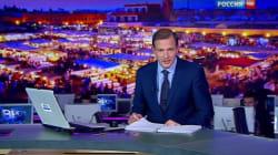 Une chaîne télé russe fait la promotion du