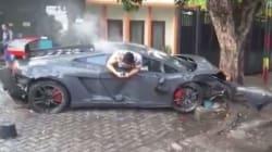 «Θέρισε» 3 πεζούς με τη Lamborghini σε «κόντρα» με Ferrari, σκότωσε έναν, και πρώτο του μέλημα ήταν να γράψει στο