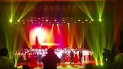 Κατάρρευση θεατρικής σκηνής με τραυματίες σε αμφιθέατρο πανεπιστημίου στην