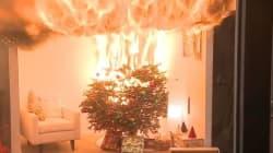 Σε πόσα δευτερόλεπτα μπορεί το χριστουγεννιάτικο δέντρο σας να γίνει παρανάλωμα; Η απάντηση στο