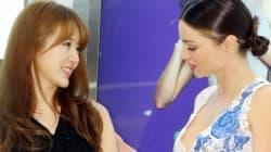 윤은혜, 미란다 커와 만나 투샷을
