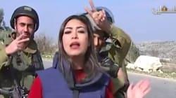 Παλαιστίνια δημοσιογράφος βρίσκεται στον «αέρα» και ισραηλινοί στρατιώτες την