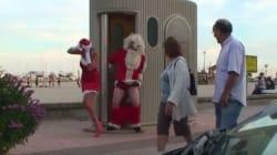 Ο Rémi Gaillard ντύνεται Άγιος Βασίλης και αναστατώνει τους κατοίκους μιας ήσυχης