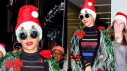 Όταν οι διάσημοι γιορτάζουν τα Χριστούγεννα: Πελώρια δέντρα κι αλλόκοτα στολίδια στο