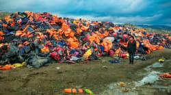 '구명조끼 무덤'이 유럽 난민 위기의 거대함을