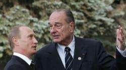 L'hommage de Poutine à Chirac, qui