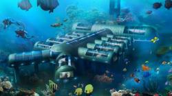 Cet hôtel sous-marin pourra se déplacer tout