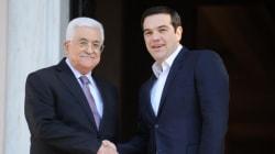 Τσίπρας: Θα αναγράφεται ο όρος Παλαιστίνη αντί Παλαιστινιακής αρχής σε όλα τα ελληνικά