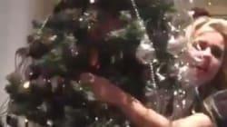 Να τι συμβαίνει όταν χορεύεις μεθυσμένος με το χριστουγεννιάτικο