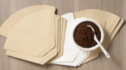 오래된 커피필터를 사용하는 4가지
