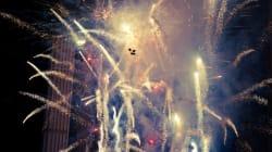 Εορταστικές εκδηλώσεις για την υποδοχή του νέου έτους στη σκιά της τρομοκρατικής