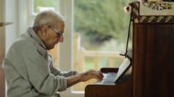 95세 전직 피아니스트를 위해 달려온 80명의
