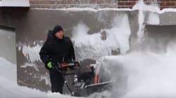 L'hiver canadien vue par un algérien