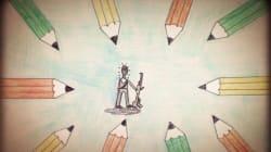 Βίντεο: Τα παιδιά ζωγραφίζουν για την ελευθερία της έκφρασης και τα θύματα του Charlie