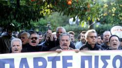 Διαμαρτυρία του ΠΑΜΕ έξω από το Μαξίμου για το