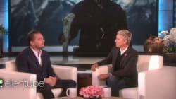 Η ξεκαρδιστική μίμηση του Leonardo DiCaprio στην Ellen για τότε που νόμιζε ότι έπεφτε το αεροπλάνο
