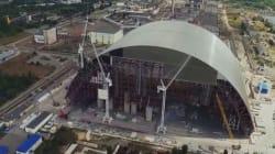 Η τεράστια αψίδα προστασίας από την ραδιενέργεια που χτίζεται στο