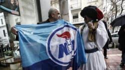Όταν ο τσολιάς της Ελληνοφρένειας ξεδίπλωσε τη σημαία της ΝΔ με τον Μεϊμαράκη. Το τρολάρισμα και οι