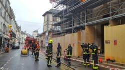 France: Une église incendiée et une croix