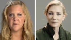 Όταν η Cate Blanchett και η Amy Schumer προσπάθησαν να παίξουν το «Όσα παίρνει ο