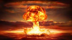 Nukleare Aufrüstung und die Spur des