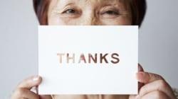 Wer dankbar ist, hat mehr vom