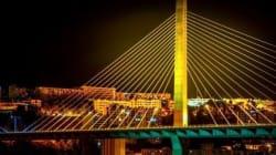 Le viaduc Saleh Bey raccordé à la RN 5 et à l'autoroute est-ouest en