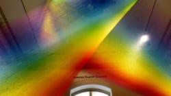 Το πιο όμορφο ουράνιο τόξο που θα δείτε είναι ένα έργο τέχνης φτιαγμένο από