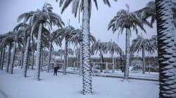 De la neige en Arabie saoudite pour la première fois depuis 85