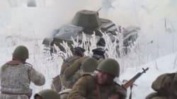 Η Πολιορκία του Λένινγκραντ: Εντυπωσιακές εικόνες από την αναπαράσταση της μάχης, 72 χρόνια μετά το τέλος