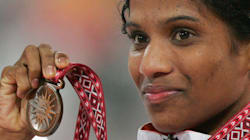 OP Jaisha's Gunning For Olympics Gold, But Many Hurdles Face The Track