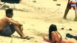 Κοινωνικό πείραμα: Αυτά συμβαίνουν όταν μια γυναίκα κάνει τόπλες ηλιοθεραπεία σε μια