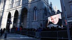 Funérailles nationales, foule... Montréal a vu les choses en grand pour René