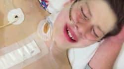 Η συγκινητική αντίδραση του αγοριού που μόλις ξύπνησε από εγχείρηση για μεταμόσχευση
