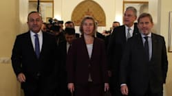 Εκνευρισμός στη συνάντηση Μογκερίνι με τούρκους υπουργούς για συμφωνία με την ΕΕ για το