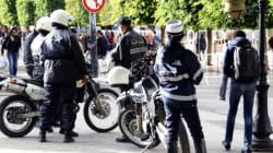 Tunisie: Manifestation policière réclamant une loi les protégeant dans le cadre de leur